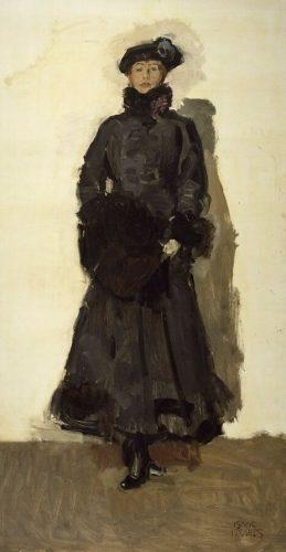 Mata Hari, 1916 - Isaac Israels (krollermuller.nl)