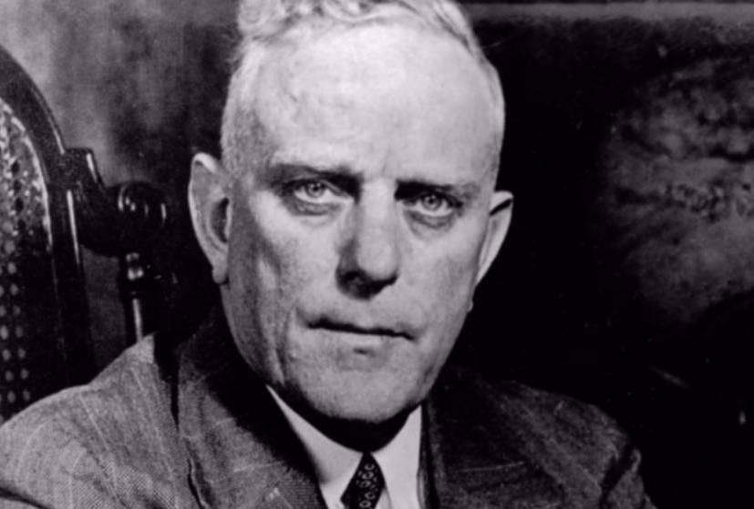 Albert Plesman.Eerste president-directeur van KLM