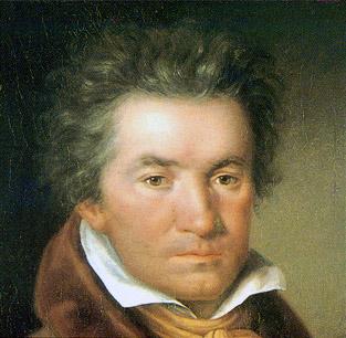 Beethoven in 1815 - Schilderij van Willibrord Joseph Mähler