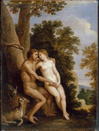 David Teniers - Adam en Eva