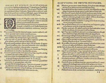 De Reformatie - De 95 stellingen van Maarten Luther