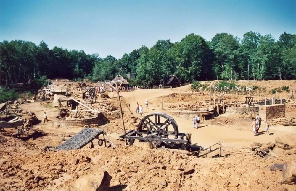 De bouwplaats in het jaar 2000 - cc