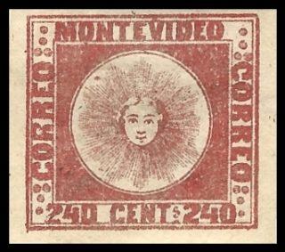 Door Jean de Sperati vervalste postzegel