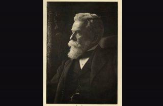 Ernest Solvay rond 1900