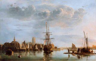 Gezicht op Dordrecht - Albert Cuyp (ca. 1660)