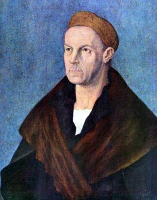 Jakob Fugger de Rijke. Portret door Albrecht Dürer (ca. 1519)