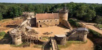 Het Kasteel van Guédelon, een 'nieuwe' middeleeuwse burcht