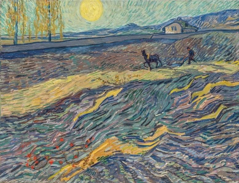 Laboureur dans un champ - Vincent van Gogh (Christies)
