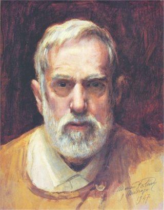 Mariano Fortuny, zelfportret