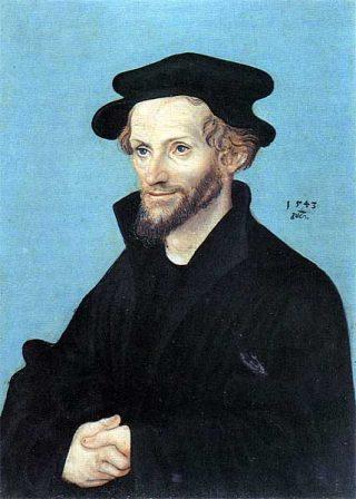 Philipp Melanchthon, rechterhand van Maarten Luther