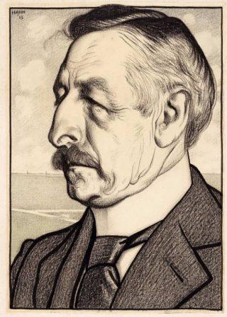 Pieter Jelles Troelstra (Tekening van Albert Hahn)