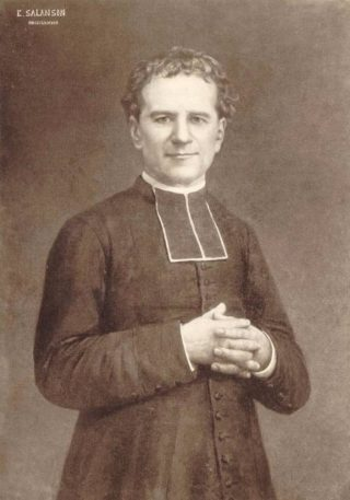 Portret van Don Bosco