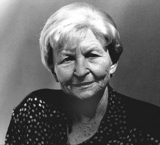 Marija Gimbutas in 1993. Foto: cc/Monica Boirar