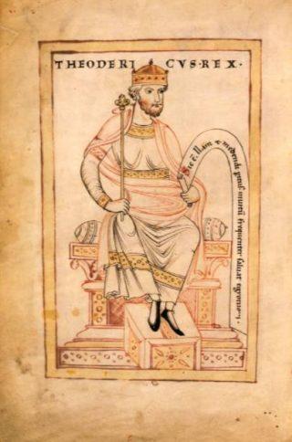 Theodorik de Grote, koning van de Ostrogoten