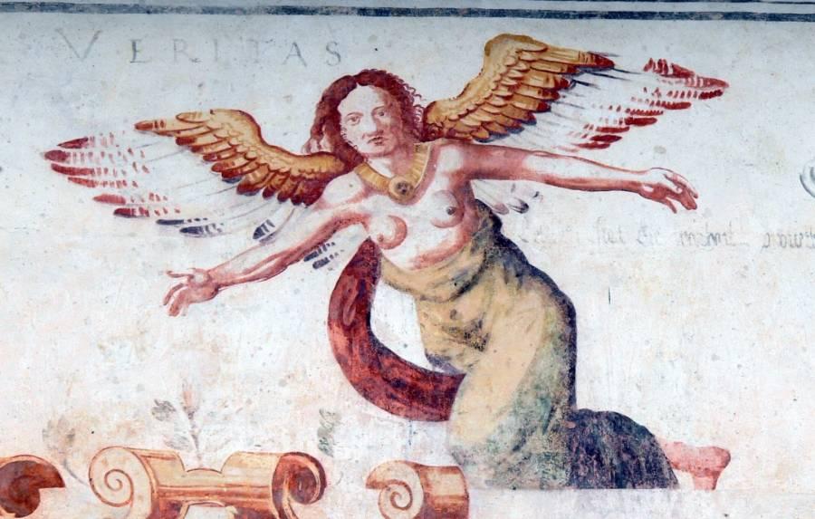 Veritas, de Romeinse godin van de waarheid