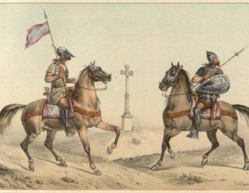 Visigotische ruiters (1861)