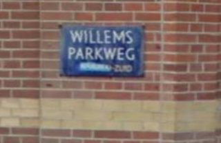 Willemsparkweg in Amsterdam (Google Street)