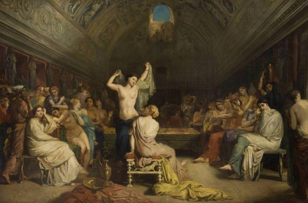 Théodore Chassériau, Le Tépidarium