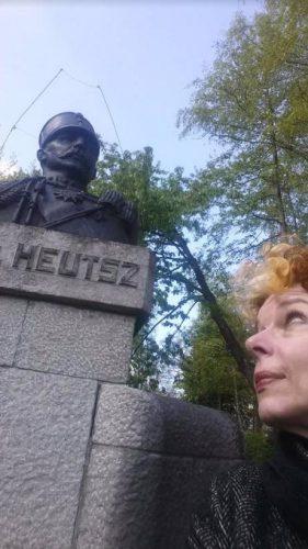 Selfie met de generaal (Foto: Vilan van de Loo)