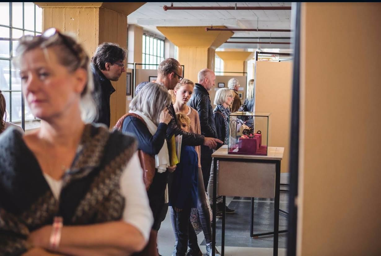Algoritmisch Historisch Museum op de Dutch Design Week (Foto Dongwei Su)