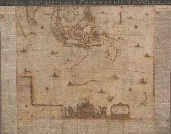 De kaart van Blaeu na de restauratie (NLA)