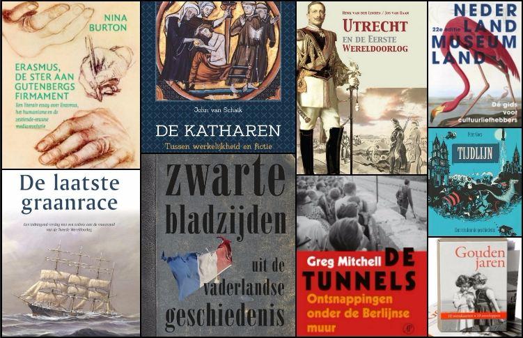 Nieuwe geschiedenisboeken (week 48)