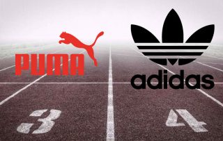 Puma en Adidas