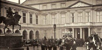 De bizarre begrafenis van koning Willem III