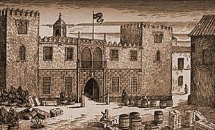 Casa de la Contratación in Sevilla