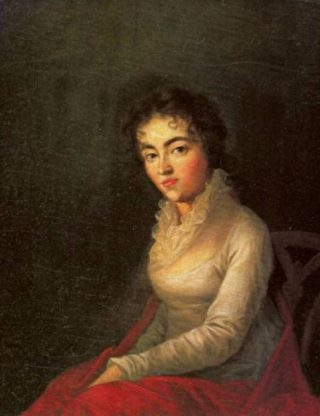 Constanze Mozart-Weber, in 1782