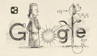 De doodle ter ere van Jan Ingenhousz