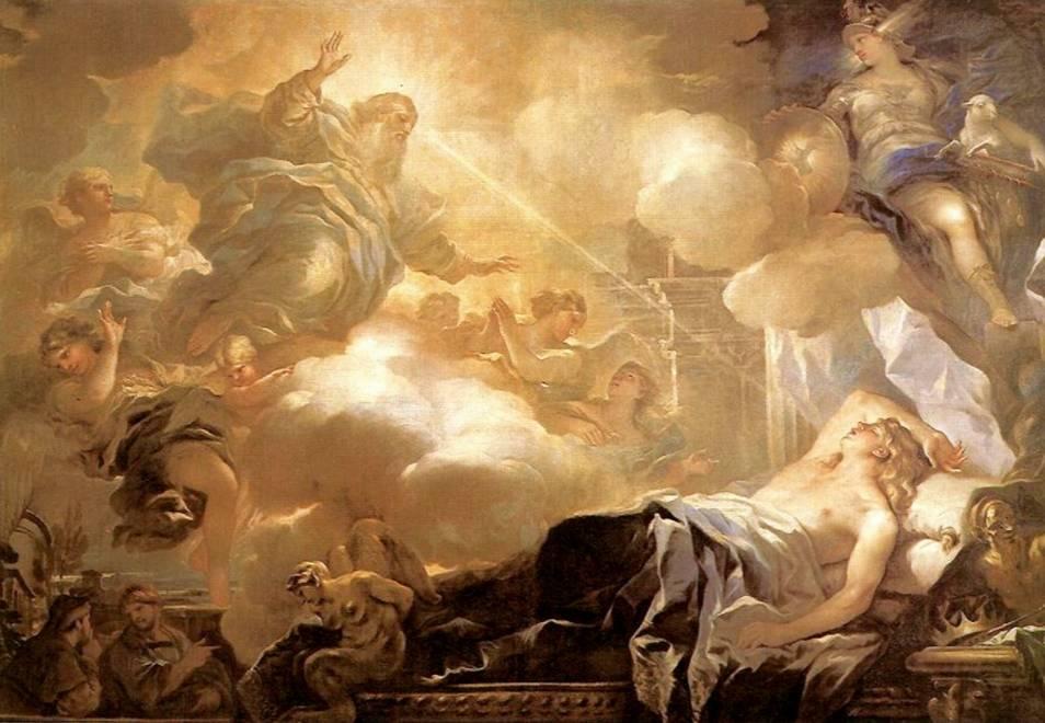 De droom van koning Salomon (Luca Giordano)