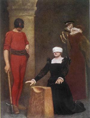 Executie van Maria Stuart