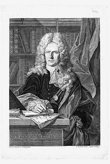 De cartograaf Johann Baptist Homan.