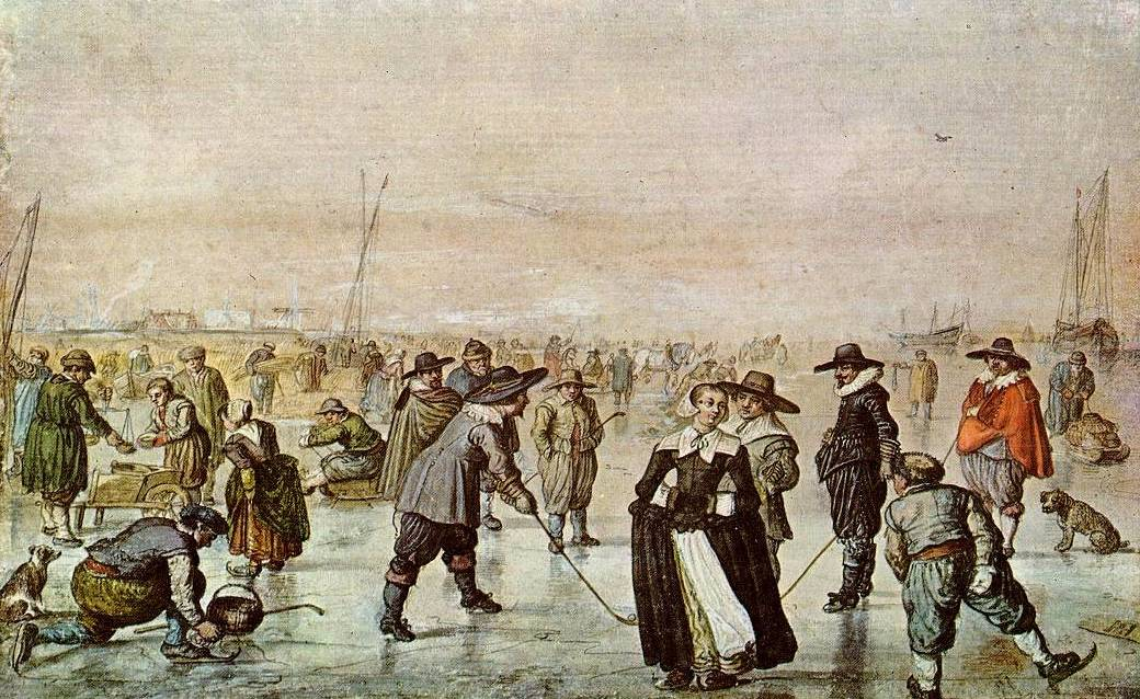 IJsvermaak - Hendrick Avercamp
