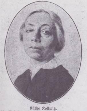 Käthe Kollwitz in 1919