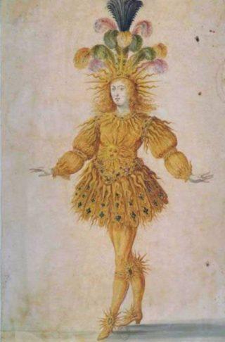Lodewijk XIV als Apollo