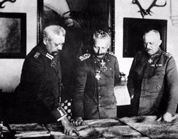 Wilhelm II en Erich Ludendorff