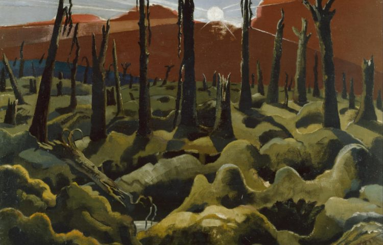 Paul Nash, We Are Making a New World, Imperial War Museum