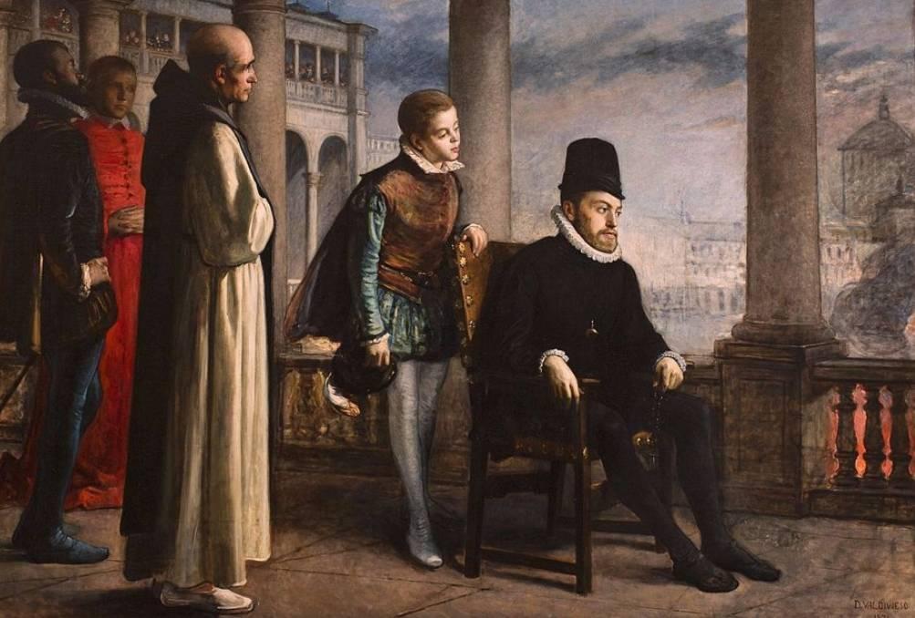 Filips II (Domingo Valdivieso y Henarejos, 1871)