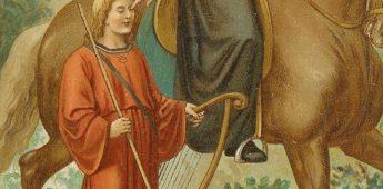 Bernlef (8e eeuw), de blinde dichter die christen werd