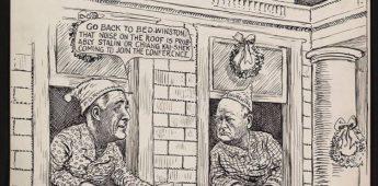 Logeerpartij in Witte Huis met kerst '41 veranderde verloop Tweede Wereldoorlog