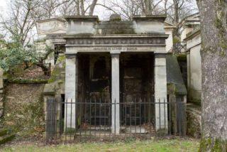 Bazouin-mausoleum op de begraafplaats Père-Lachaise - cc