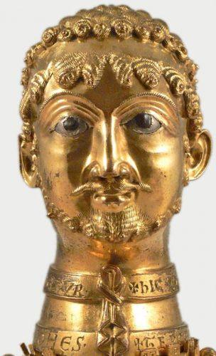 Cappenbergkop, portret van Frederik Barbarossa (cc)