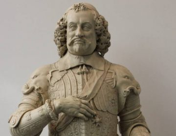 De verwijderde buste van Johan Maurits van Nassau-Siegen (cc - Beko)