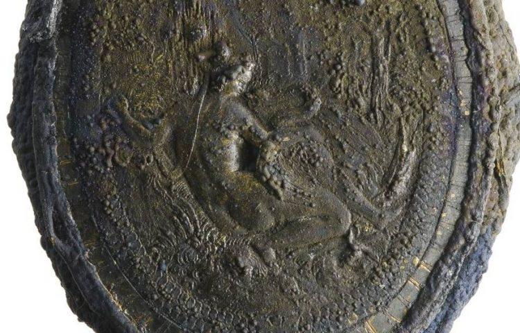 Detail van de poederdoos (Kaap Skil)