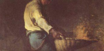 Het kaf van het koren scheiden – Herkomst en betekenis