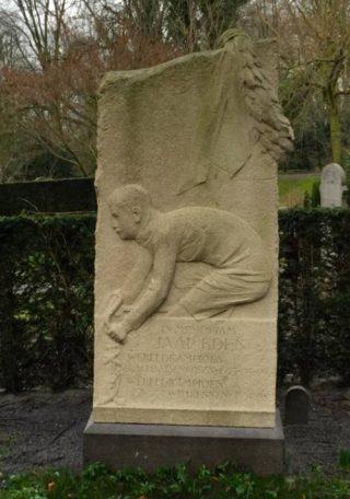 Grafsteen van Jaap Eden - cc