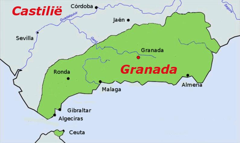 Het laatste Moorse bolwerk_ Granada