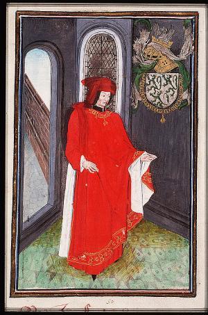 Jan III van Lannoy in het wapenboek van de Orde van het Gulden Vlies